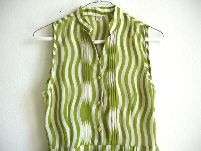 Other short dress lawn green Striped Striped on Tradesy Image 2