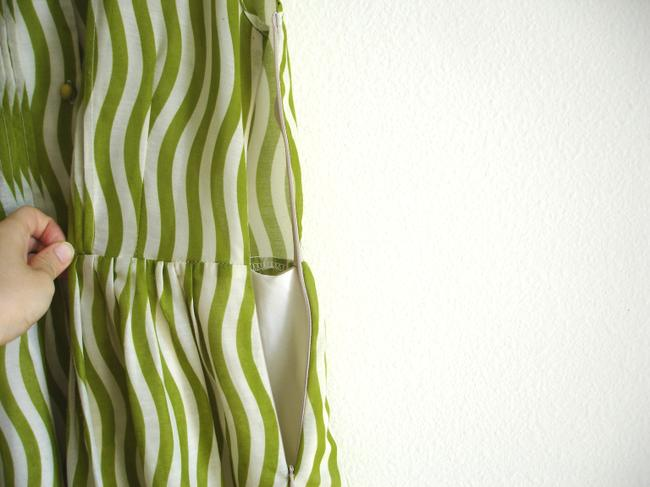 Other short dress lawn green Striped Striped on Tradesy Image 4