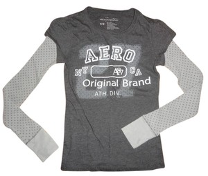 Aéropostale T Shirt Grey