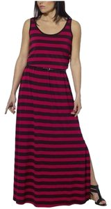 Pink Black Maxi Dress by Fever