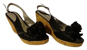 CL by Laundry Cute Summer black Wedges