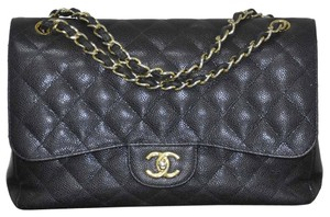 Chanel Jumbo Double Flap Handbag Shoulder Bag