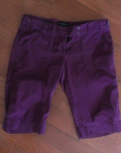 The Limited Bermuda Shorts eggplant