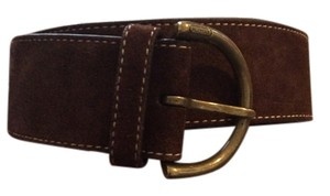 Coach Soho Belt brown suede