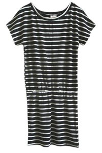 Mossimo Supply Co. short dress black and white Striped Striped on Tradesy