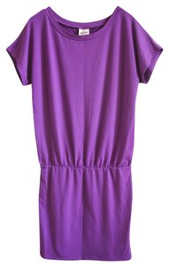 Mossimo Supply Co. short dress purple Mini T-shirt on Tradesy