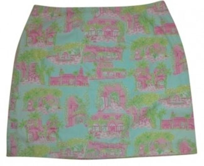 Preload https://item3.tradesy.com/images/lilly-pulitzer-blue-pink-and-green-fun-tropical-pattern-miniskirt-size-14-l-34-11662-0-0.jpg?width=400&height=650