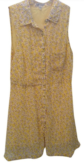 Preload https://img-static.tradesy.com/item/1166225/lucca-couture-yellow-short-casual-dress-size-4-s-0-0-650-650.jpg
