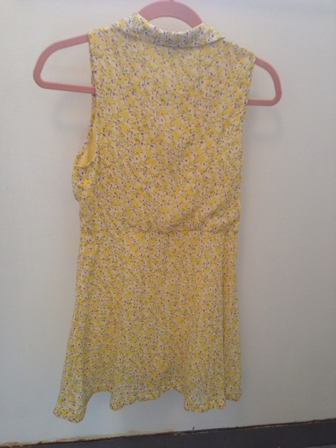 Lucca Couture short dress Yellow on Tradesy