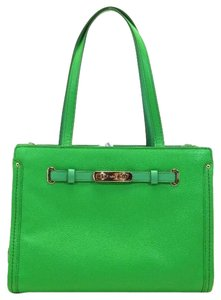 Coach Swagger Pebble Tote in Green