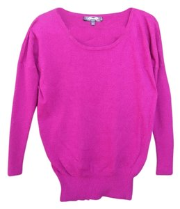 Mandee Oversized Fushia Sweater