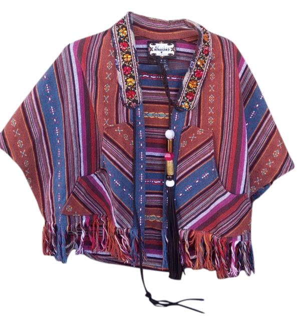 Preload https://img-static.tradesy.com/item/11663167/multi-color-brown-red-blue-artsy-ponchocape-size-os-one-size-0-1-650-650.jpg