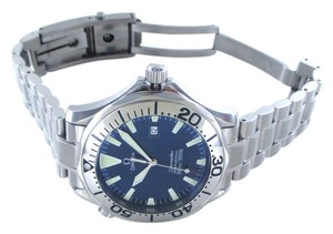 Omega OMEGA SEAMASTER PROFESSIONAL BLUE DIAL DATE STAINLESS STEEL WATCH MEN WRISTWATCH