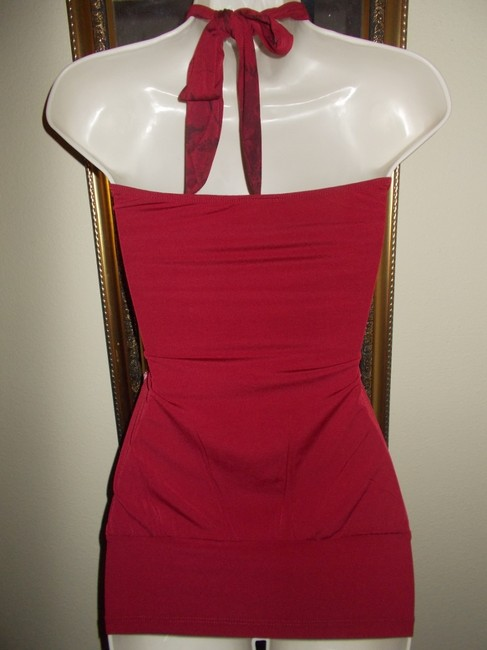 Siren Lily Red Halter Top