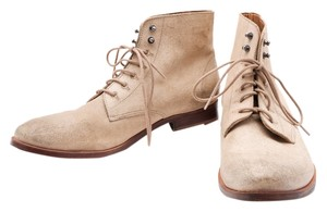 Diesel Chukka Ankle Mens Suede Beige Boots