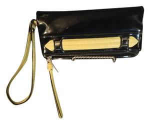 Vera Wang Black And Yellow Clutch
