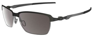 Oakley Oakley OO4083-01 Tinfoil Matte Black/Warm Gray Sunglasses