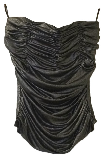 Item - Silver and Black Top