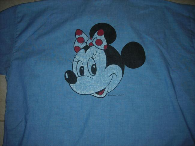 Disney Minnie Mouse Vintage Top blue