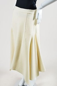 Stella McCartney Wool Maxi Skirt Cream