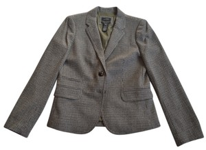 J.Crew Gray Brown Blazer