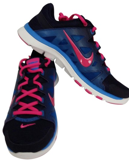 Nike Blue/Purple/Pink/White Athletic Image 0