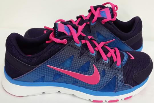 Nike Blue/Purple/Pink/White Athletic Image 1