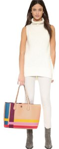 Tory Burch Tote in MULTICOLOR BEIGE