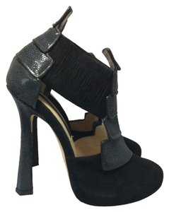 Chrissie Morris Black Platforms