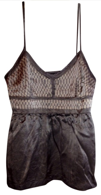 Item - Gray Silver Tank Top/Cami Size 10 (M)