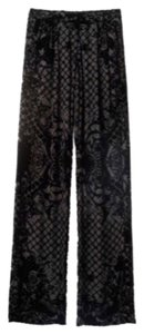 Balmain x H&M Wide Leg Pants Black