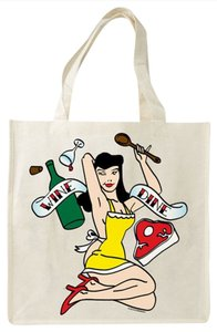 Environmentally Friendly Tote in Beige