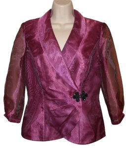 Alex Evenings Top Shimmery Rose