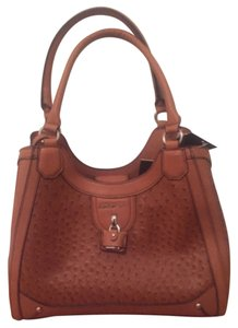 London Fog Satchel in Amber