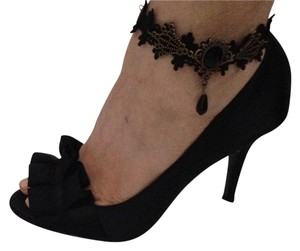 Other NEW Unique style lace. Black anklets