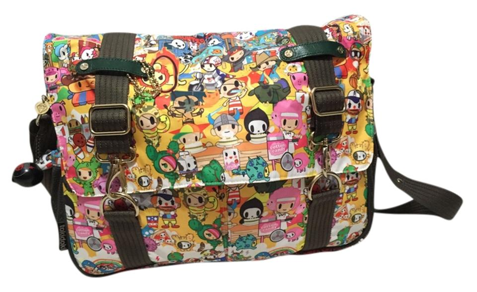 Tokidoki Multicolor Messenger Bag