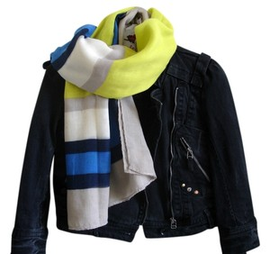 Other yellow blue scarf