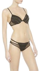 La Perla Silk Jewels Top Black