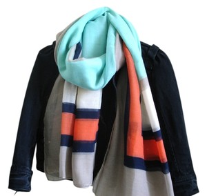 Other mint coral scarf
