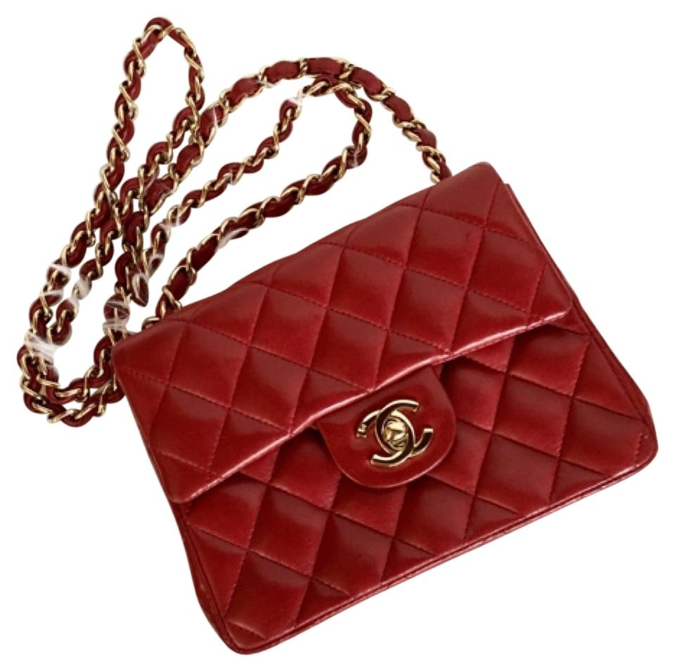 0267c864aa74 Chanel Mini Classic Flap 2.55 Caviar Classic Flap Boy Quilted Mini Square Classic  Cross Body Bag ...