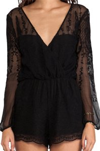 Dolce Vita Silk Romper Mini Vegas Dress