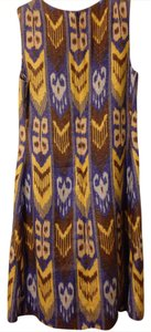 Tory Burch short dress Multi Ikat on Tradesy