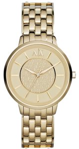 A|X Armani Exchange Armani Exchange Gold Smart Stainless Steel Ladies Watch AX5304