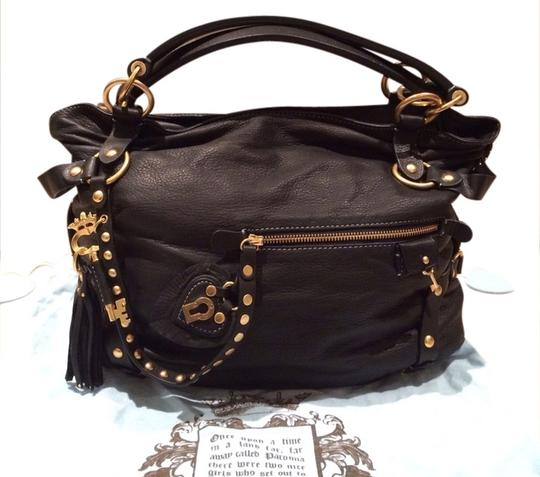 Preload https://item5.tradesy.com/images/juicy-couture-all-rare-black-leather-satchel-1166974-0-0.jpg?width=440&height=440