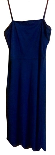 unknown short dress blue on Tradesy