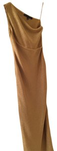Carmen Marc Valvo Full Length One Shoulder Dress