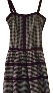 Betsey Johnson short dress Bodice Fit & Flare Dress Checkered on Tradesy