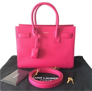 Saint Laurent Tote in Bubblegum