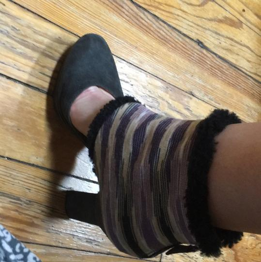 Missoni Gray, purple yellow black Platforms Image 6
