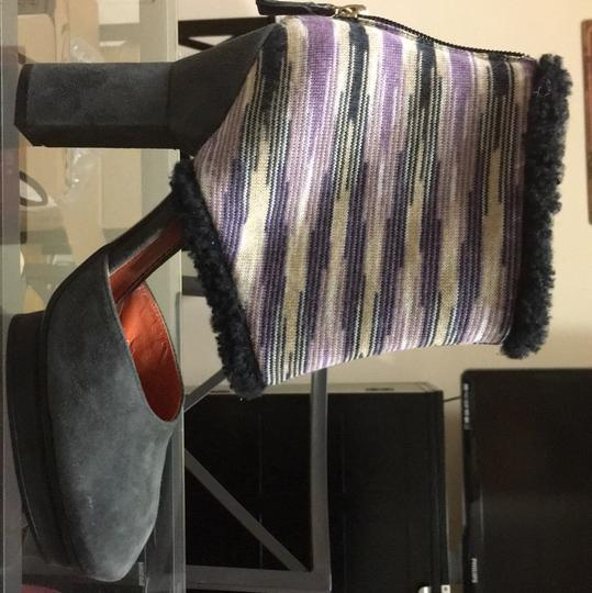 Missoni Gray, purple yellow black Platforms Image 7
